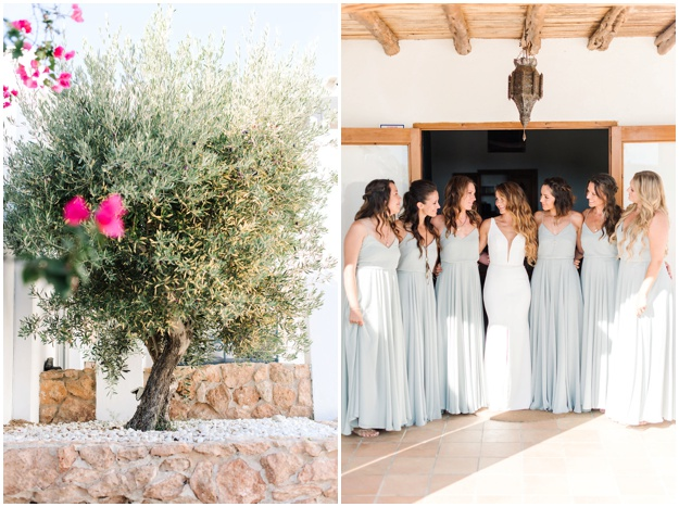 Beautiful Sea Side Ibiza Wedding