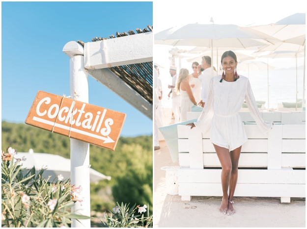 ALL WHITE WEDDING AT EXPERIMENTAL BEACH IBIZA