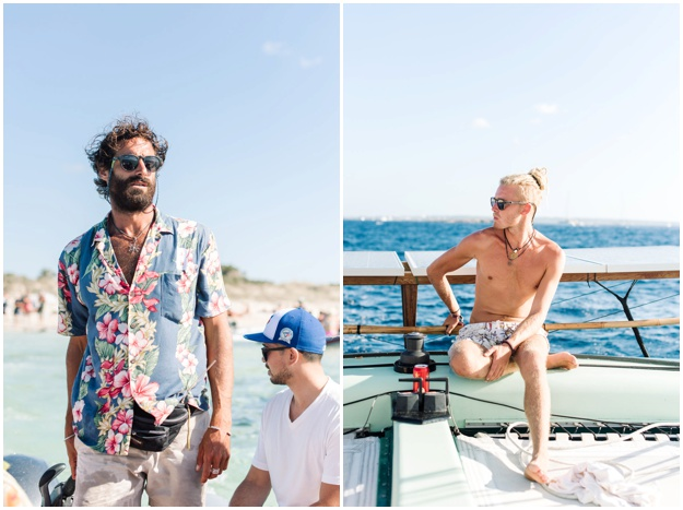 Ibiza photo session, sailing to Formentera- Wedding Photography