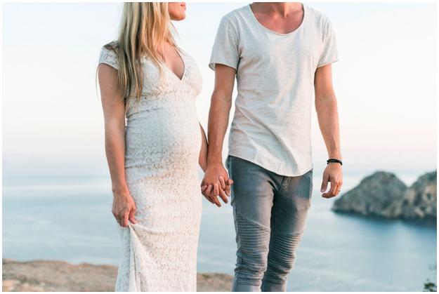 Es Vedra, Ibiza, Maternity Photoshoot