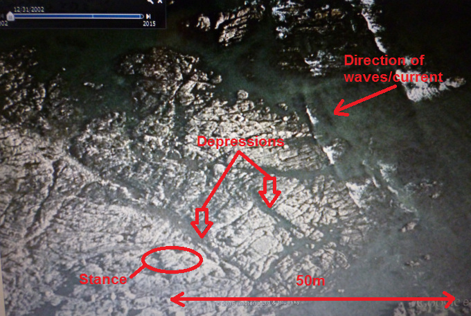 Image 1 - How a depression might look on Google Earth
