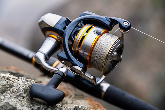 Daiwa Certate 2500 Mag Sealed (2012 model, discontinued) - What more needs to be said about this spinning reel ? Pure class, with that incredibly smooth action that comes when reels start to cost this much money. A Daiwa Certate does not have its awesome reputation for nothing. Does not come with a spare spool.