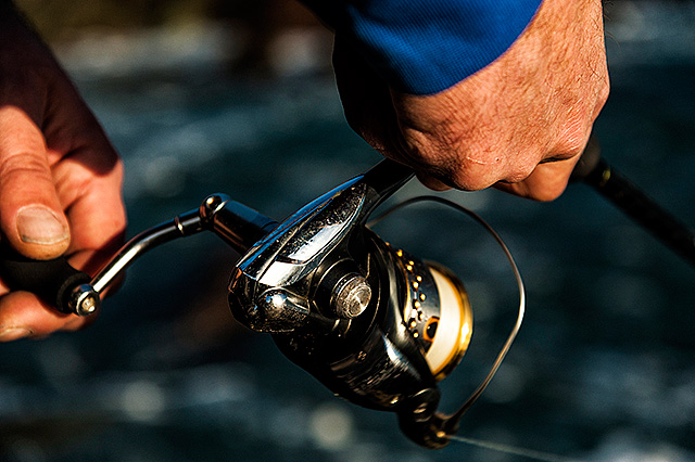 Shimano Rarenium 3000 (pre-2014 model, discontinued) - You won't go far wrong with a Shimano Rarenium, indeed over the last couple of years this lightweight beauty is without doubt one of the spinning reels that I see the most of out and about. A lot of reel for the money. Perfect line lay, that smoothness that any Shimano reel owner knows about, and they just seem to last and last. Class. How many lure anglers out there wish that Shimano had never stopped making this reel?