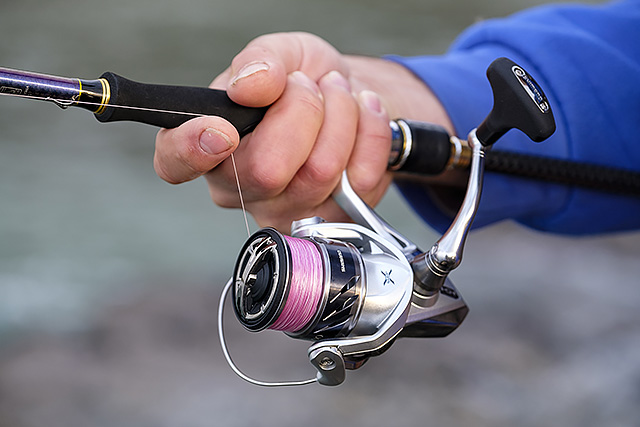 Shimano Stradic 3000FK (2016 model, discontinued) - This stunning little Shimano Stradic 3000FK is a serious peach of a spinning reel that to me sits perfectly on 9' long and below lure rods. You know how good thing is going to feel when you turn the handle, and whilst I can't tell you for how long it's going to remain that way with constant saltwater use, in my mind this is a hell of a lot of reel for the dosh. Annoyingly does not come with a spare spool. See my review here.Affiliate links (my sincere thanks if you choose to buy via these): Amazon UK, Ebay