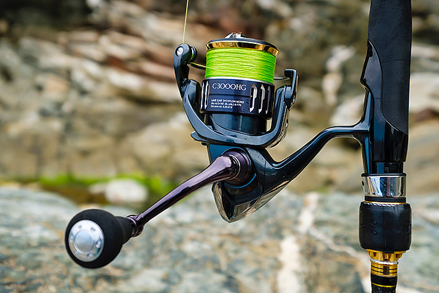 Shimano Twin Power XD C3000HG (2017 model) - I love lure fishing with this Shimano Twin Power XD C3000HG spinning reel and that's it really. Smooth, light, stunning to fish with, I think I have found my perfect spinning reel - and now all I have to do is hope that it lasts as long as the price suggests! Does not come with a spare spool. Check out my review here aan update after one year of hard use here, and two years of use here.Affiliate links (my sincere thanks if you choose to buy via these): Veals Mail Order