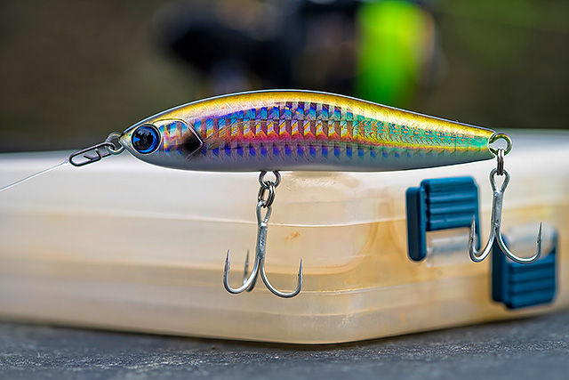 IMA Honey Trap 95S - Long-casting, just sub-surface with a stunning little waggle/slalom type of action, I have so much to learn about these lures. This IMA Honey Trap does seem very versatile with the different ways you can work it, so don't just wind it in. Play with it!Affiliate links (my sincere thanks if you choose to buy via these): Ebay