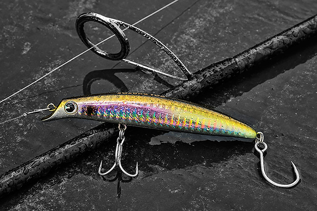 IMA Sasuke 105 - I just like the action on a Sasuke lure, and this little 105mm long model casts really well, grips in great, and gives me plenty of that Sasuke kind of action in a smaller lure. I can get this Sasuke 105 (105mm, 13g) up fairly shallow if needs be, and as with the other models on the range I tend to retrieve this 105 with a straight retrieve on a medium and sometimes slowish kind of pace.Affiliate links (my sincere thanks if you choose to buy via these): Ebay