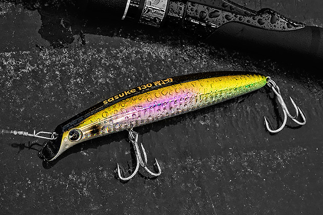 """IMA Sasuke 130 - I have been a fool for not giving this IMA Sasuke 130 (130mm, 25g, 80-120cm swimming depth) more time, and this is going to be rectified. Long-casting, very """"grippy"""" in tough conditions, and it's got a very exaggerated Sasuke kind of action. I know of a few bass anglers who have done so well on this IMA Sasuke 130 and I will be carrying it more and more for lively conditions especially.Affiliate links (my sincere thanks if you choose to buy via these): Ebay"""