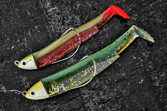 Fiiish Black Minnow (various sizes and weights) - My go-to paddletail, and it has been for a few years now. Bump it down the tide, swim it like a minnow, vertical jig it, do what you want, bass seem to love it. Oh, and pollack do as well - big time !! These bass here were caught on the Black Minnow - need I say more ?Affiliate links (my sincere thanks if you choose to buy via these): Lurefishingforbass.co.uk, Veals Mail Order