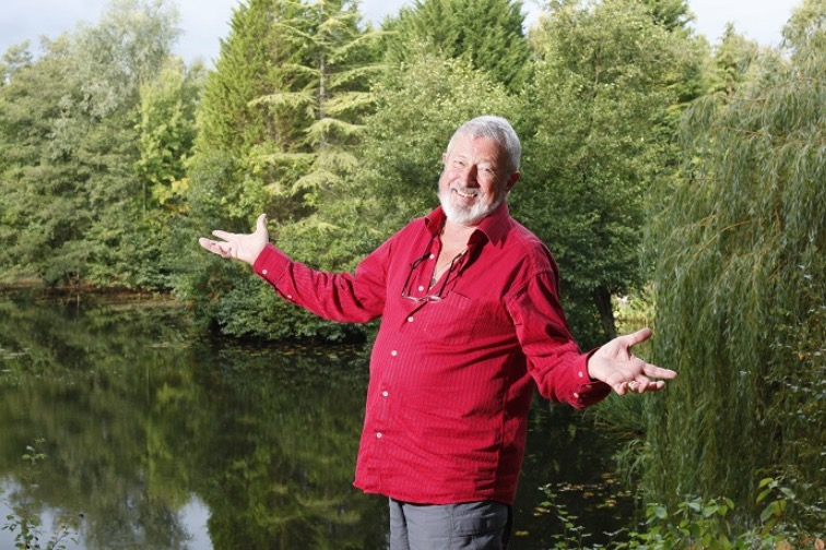 """My profound apologies for """"borrowing"""" this photo from the Angling Times website I think it was, but I don't have any photos of John"""