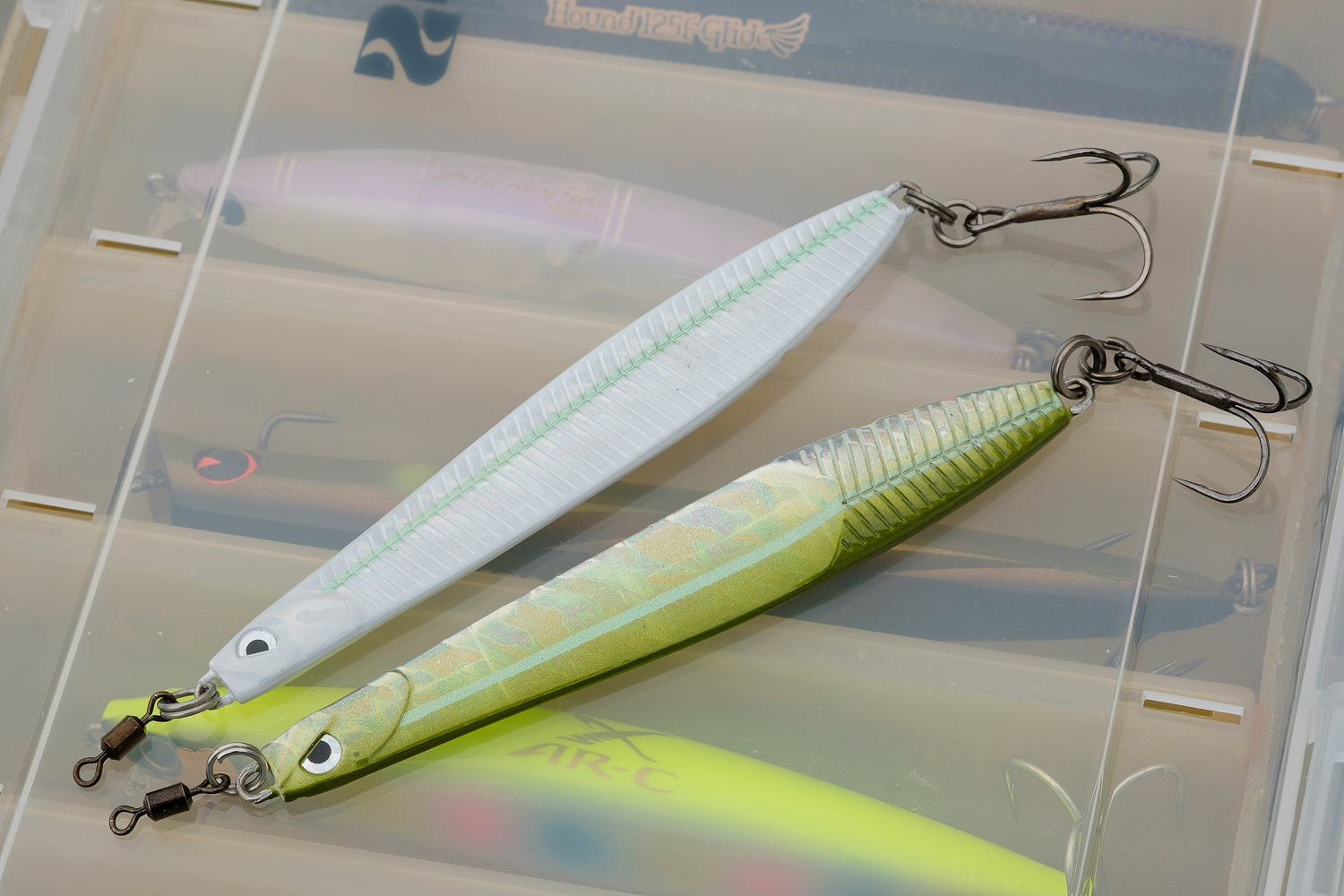 needlefish, metals, lipless, etc. -