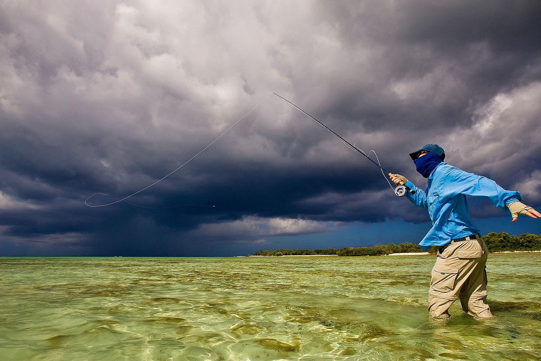 saltwater flyfishing -