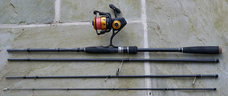 For scale, the reel is the very impressive Penn Spinfisher VI in the smallest 2500 size