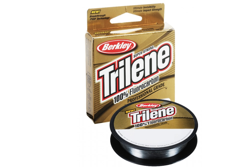Berkley Trilene 100% Fluorocarbon - What's not to like? I have heard numerous anglers raving about this Berkley Trilene 100% Fluorocarbon leader for a while now, so I had to give it a decent go - and it works brilliantly. I know Berkley lines from my bait days, and this fluoro leader just works.Affiliate links (my sincere thanks if you choose to buy via these): Veals Mail Order