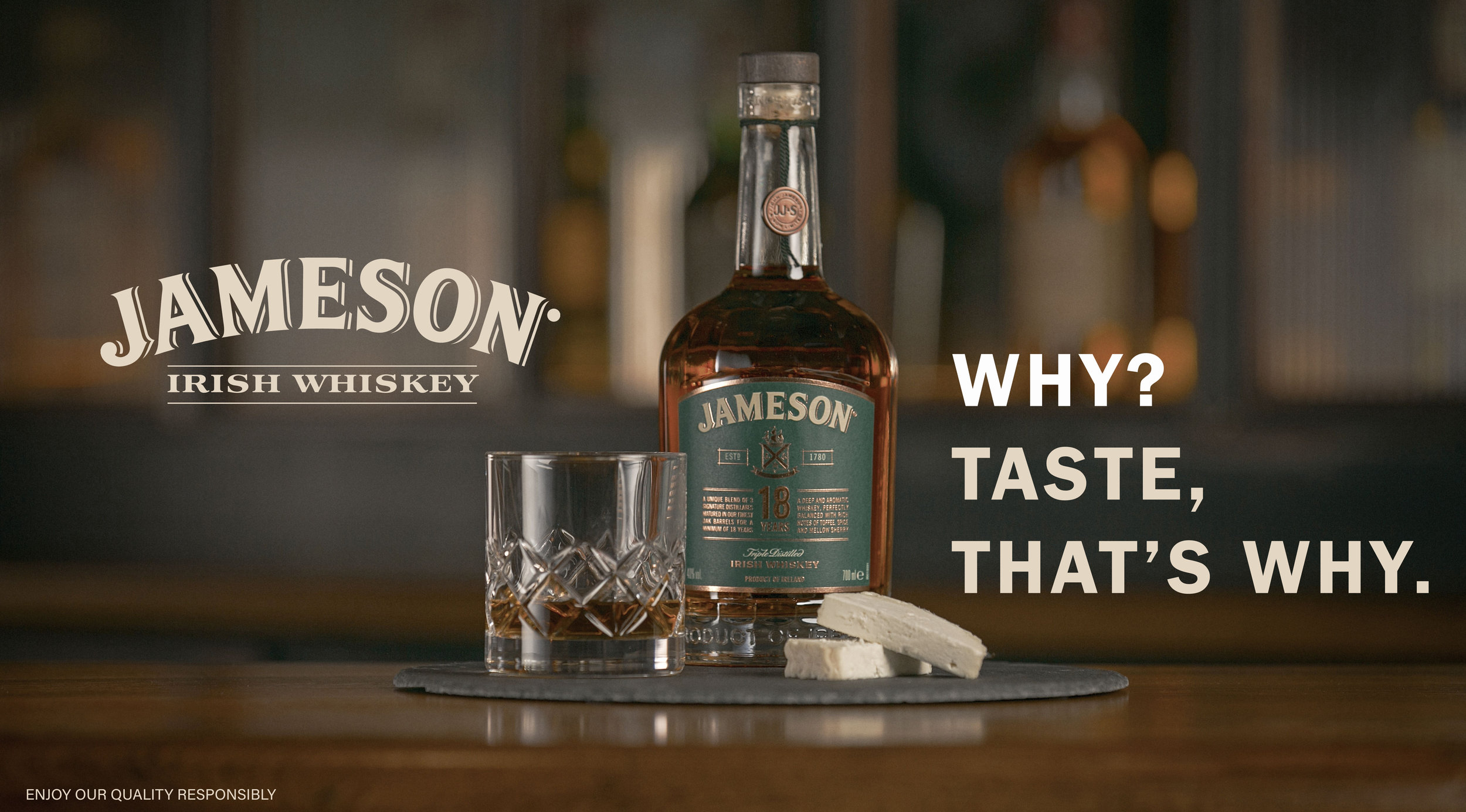 Jameson 'Why, Taste, That's Why 2019