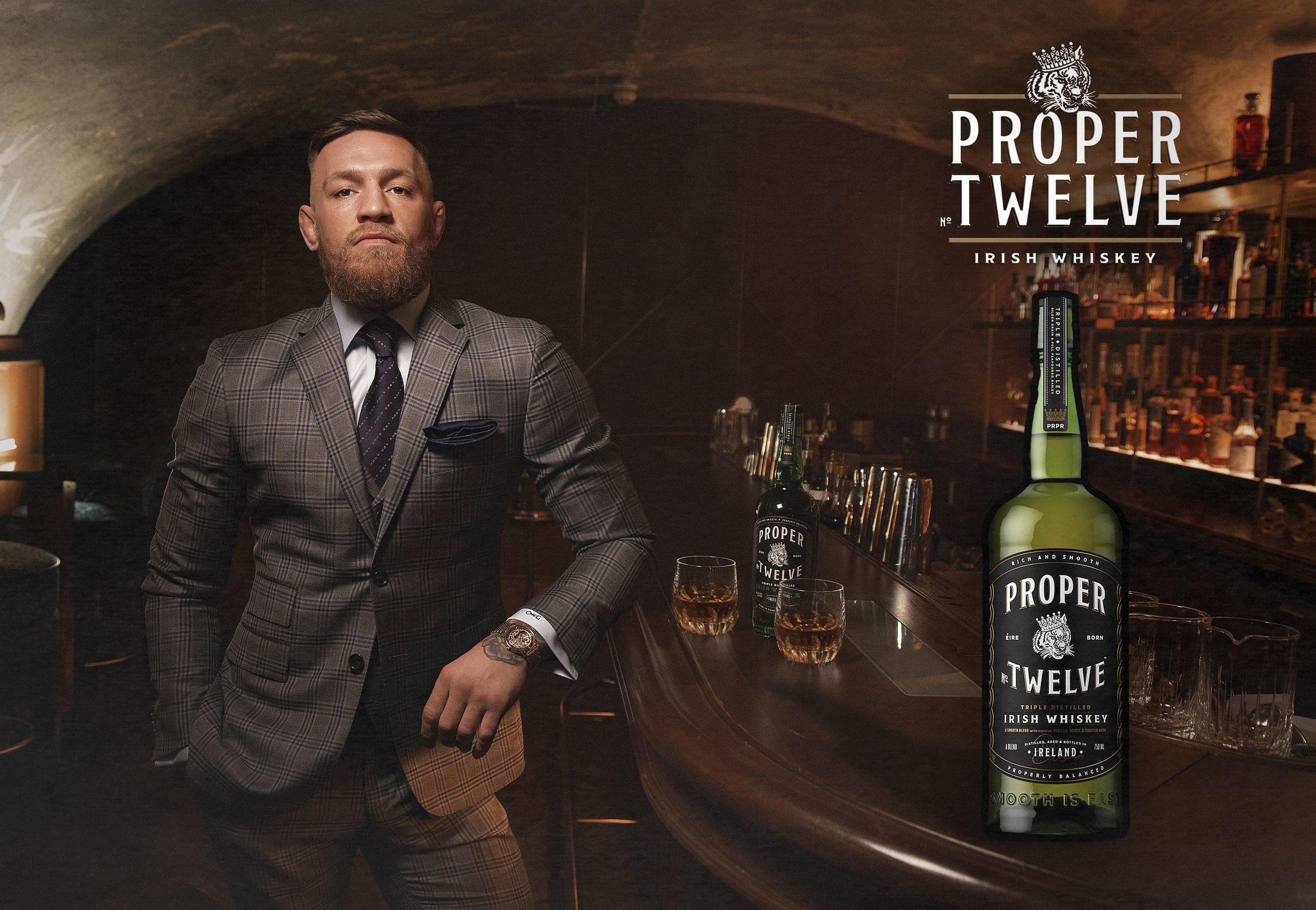 Conor McGregor 'Proper 12' Campaign 2018