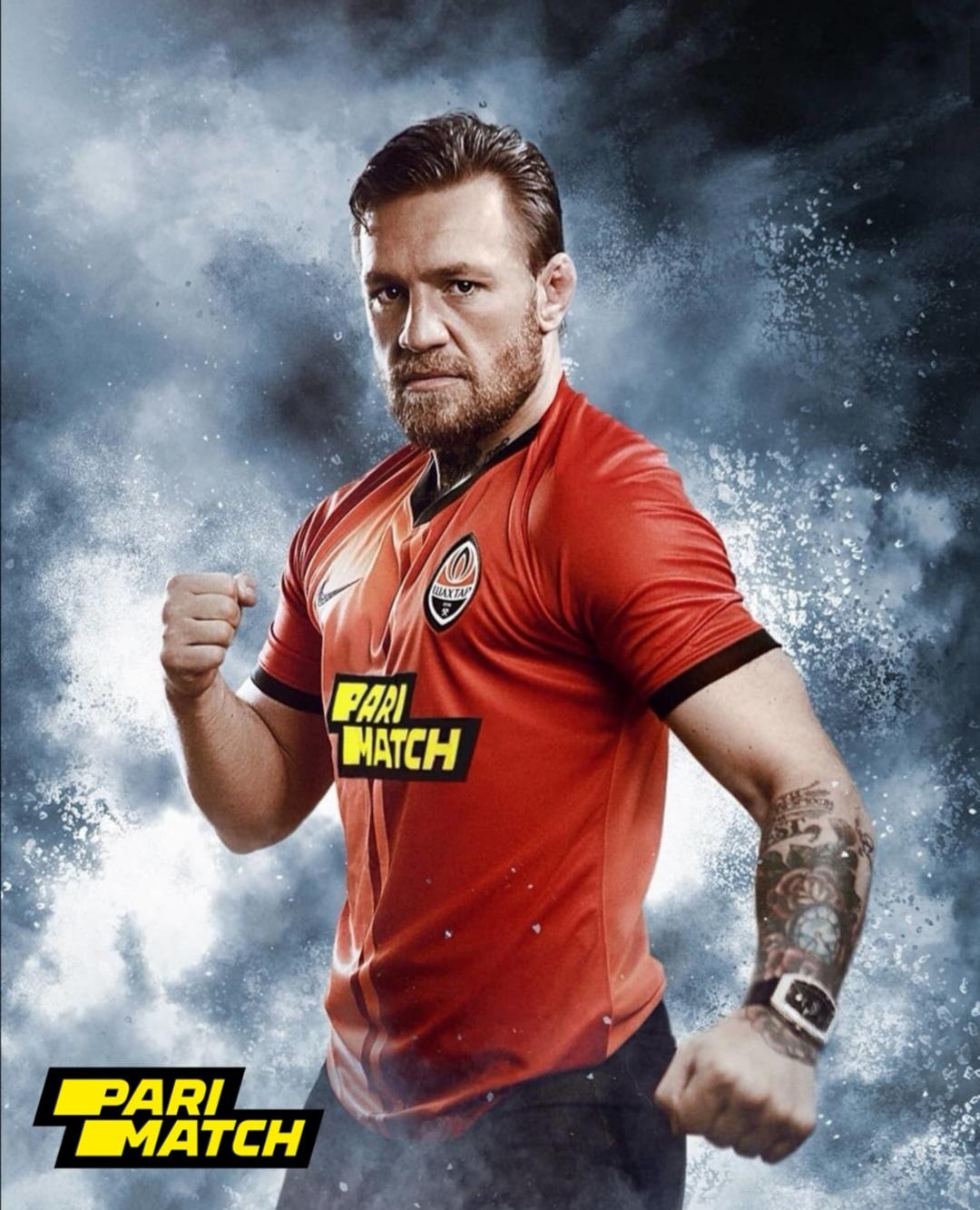 Conor McGregor Pari Match Campaign 2019