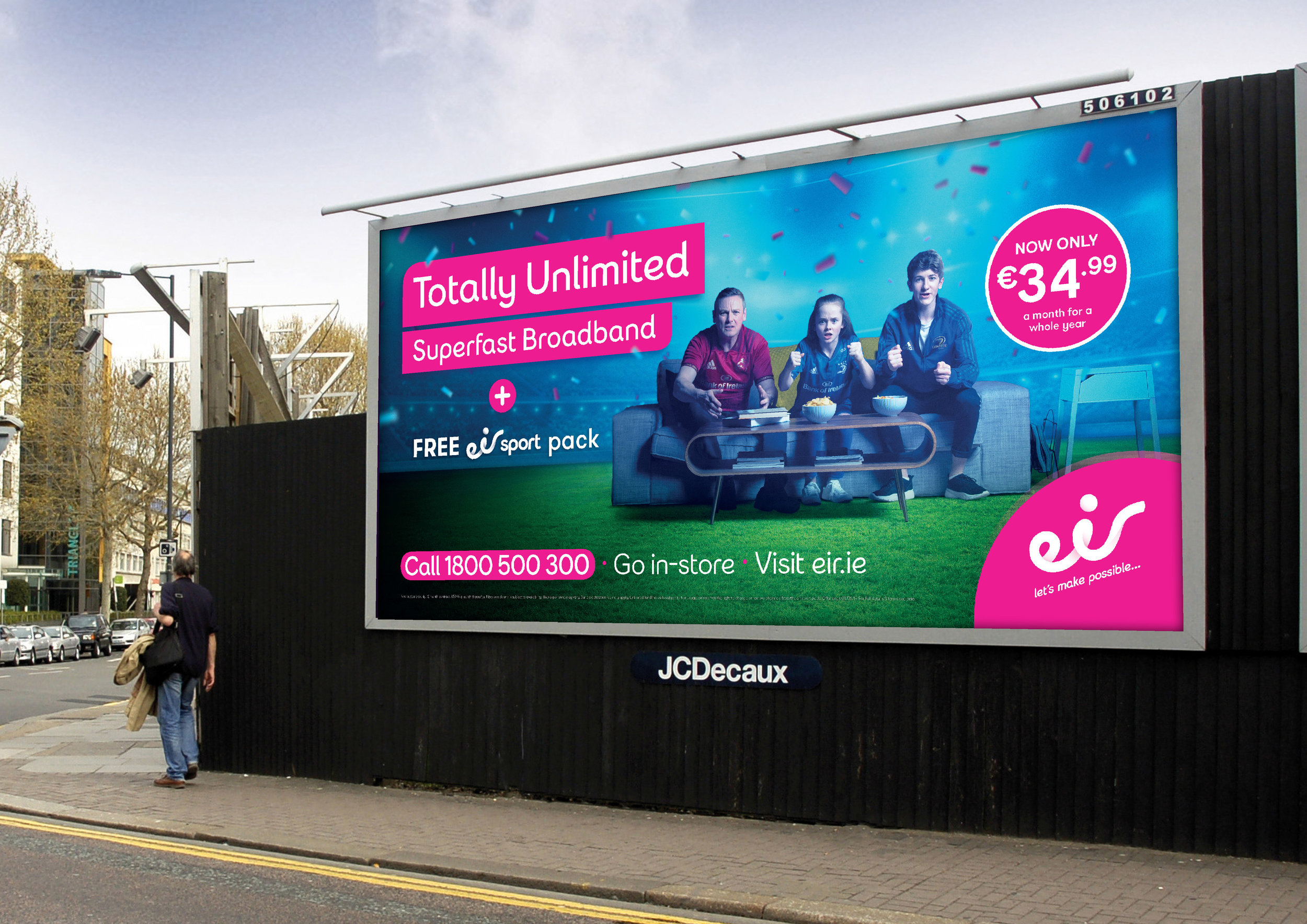 Totally Unlimited Eir Campaign 20119