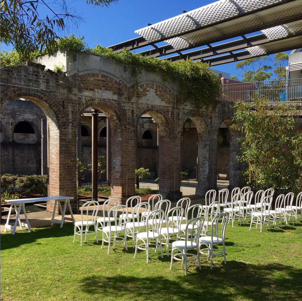 Paddington Reservoir Gardens Bentwood Events