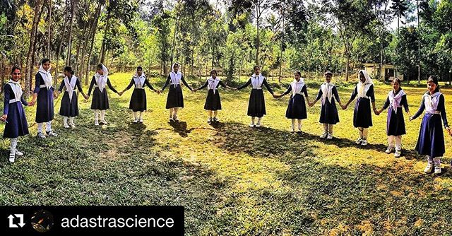 As part of our launching, we just wrapped a #science + #exploration collaboration project in partnership with #AdAstraAcademy to inspire 20 girls in remote Bharuakhali region of Cox's Bazaar in #Bangladesh 🇧🇩👏🏾 thanks to all involved. Made possible by #NatGeo @natgeoexplore . . . . #Repost @adastrascience ・・・ Day 3: today we looked at our samples collected from yesterday's field trip under microscopes, talked more about the definition of life, explored our location and how it's changed in the past 10 years using google Earth, and finally started thinking about questions the students would like to answer in their own community. #adastraacademy #natgeoexplorer #öselfoundation @oselfoundation @bluemarblespace #insidenatgeo