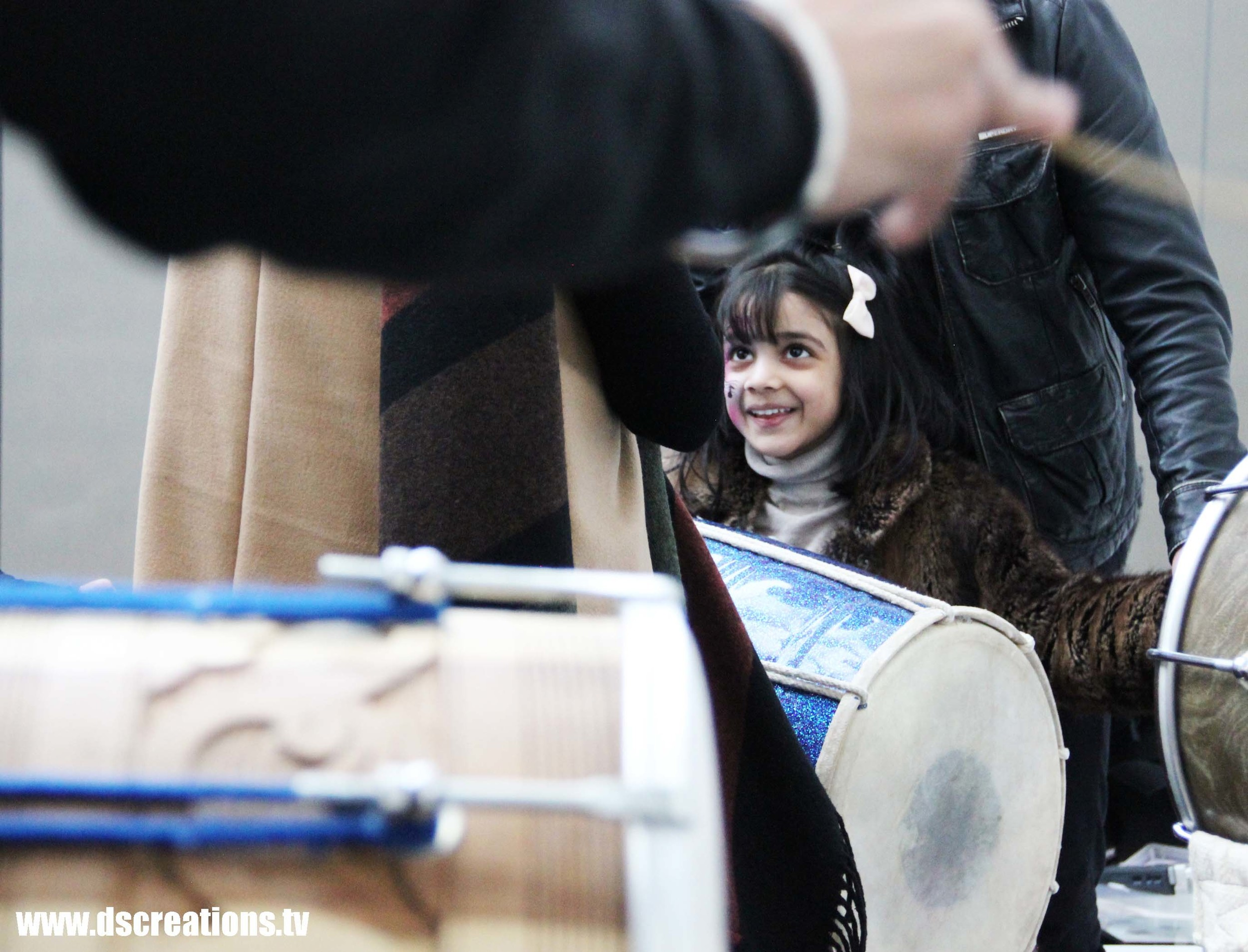 national media museum staff dhol girl