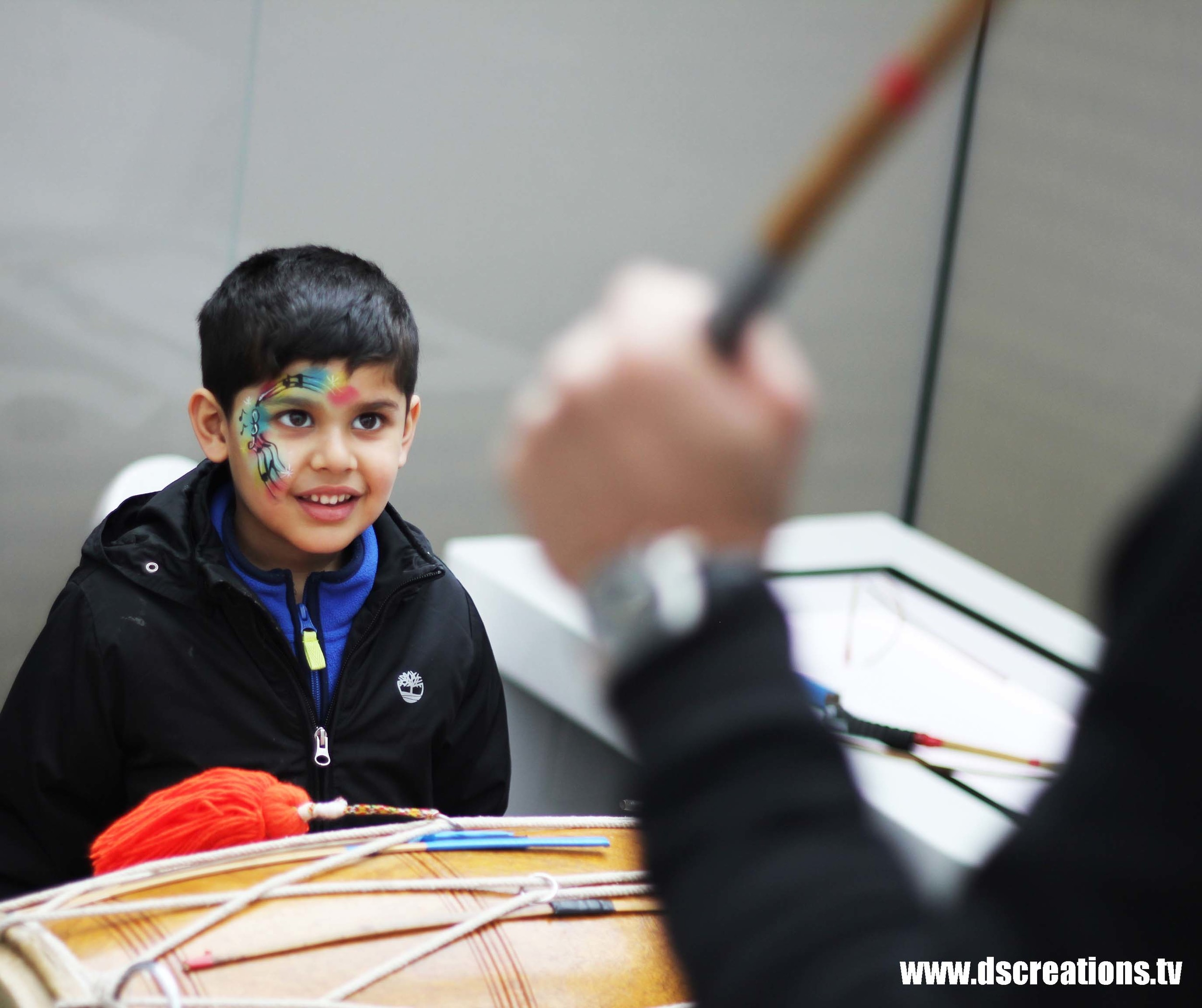 national media museum staff boy butterfly tattoo