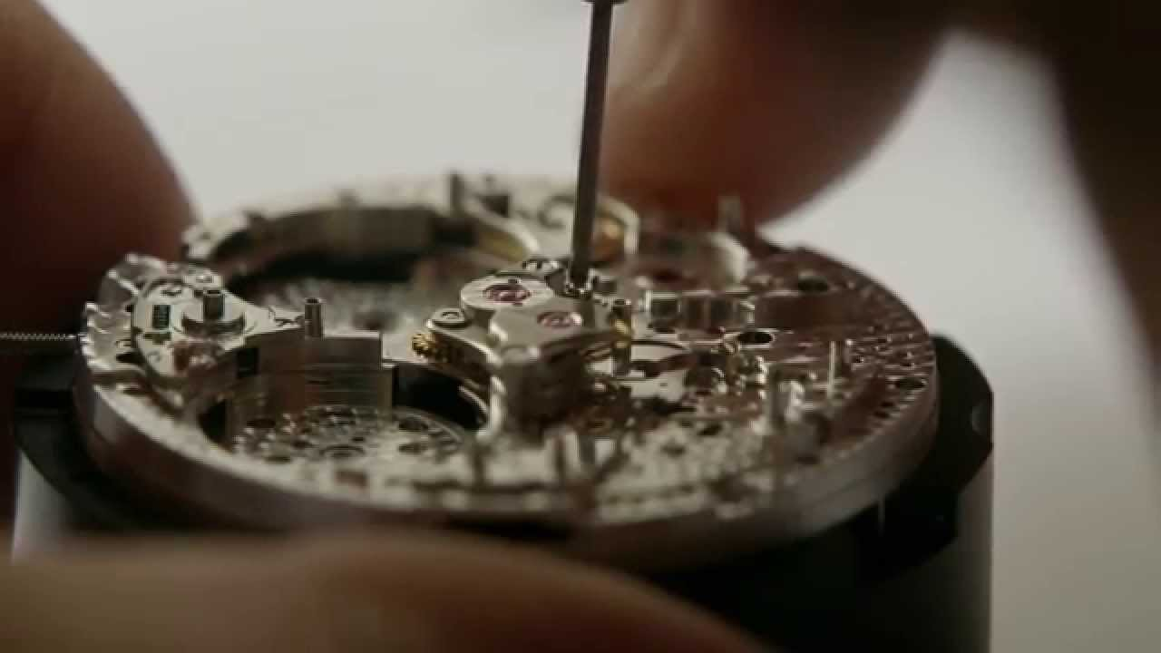 The highly detailed insides of a Patek Phillipe watch. The amount of aesthetic detail included is mind blowing.