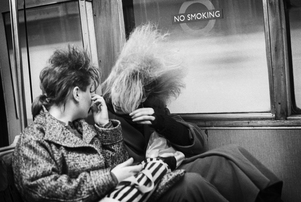 E Sheet 36 Neg 10a. Chigwell Punk Girls on Tube.jpg