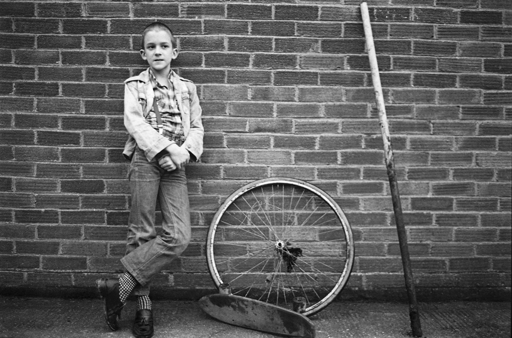 E Sheet 65 Neg 21. Skin Nev. Skateboard. Bike wheel. Hawthorne Rd.jpg