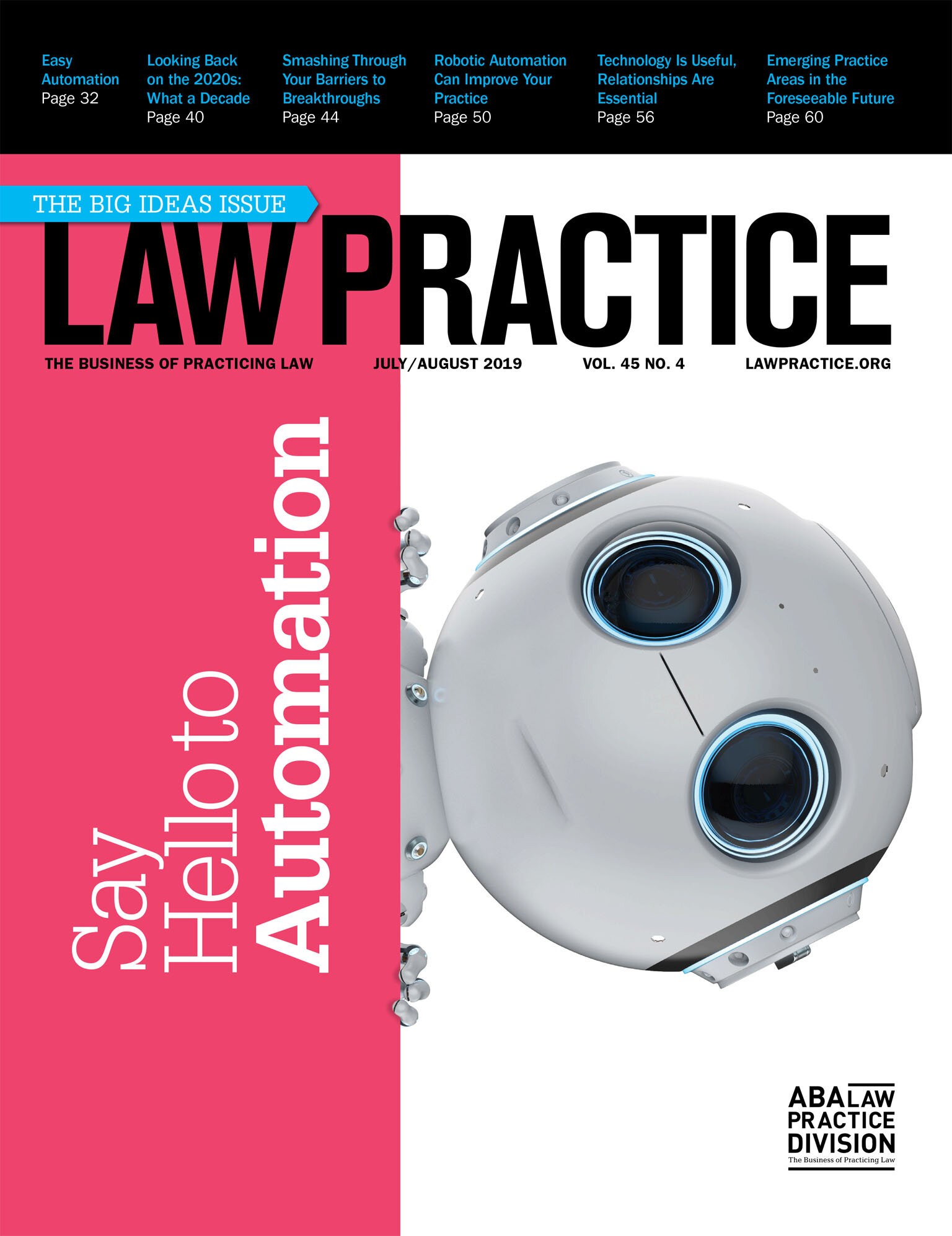 Click the cover above to view a recent edition of  Law Practice