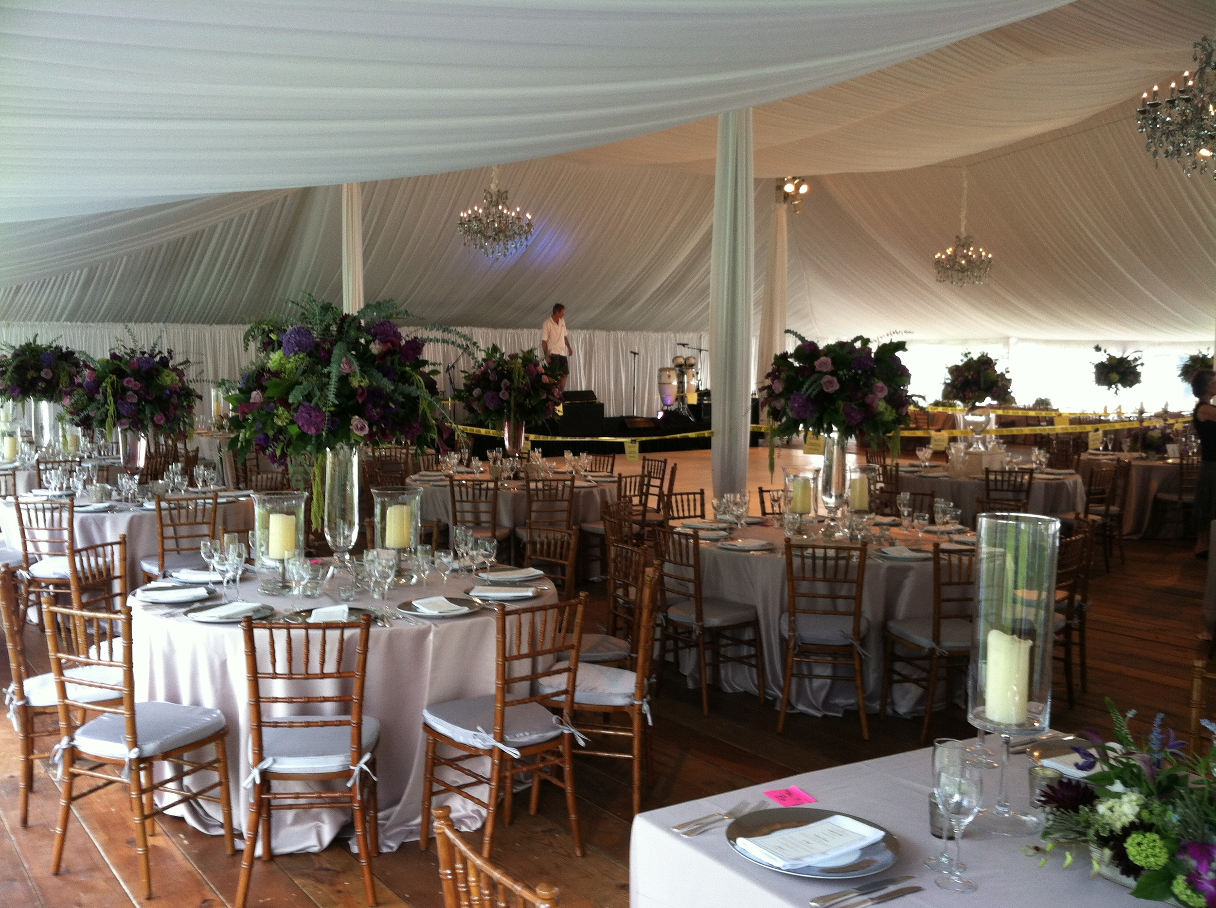 Ready for guests to arrive