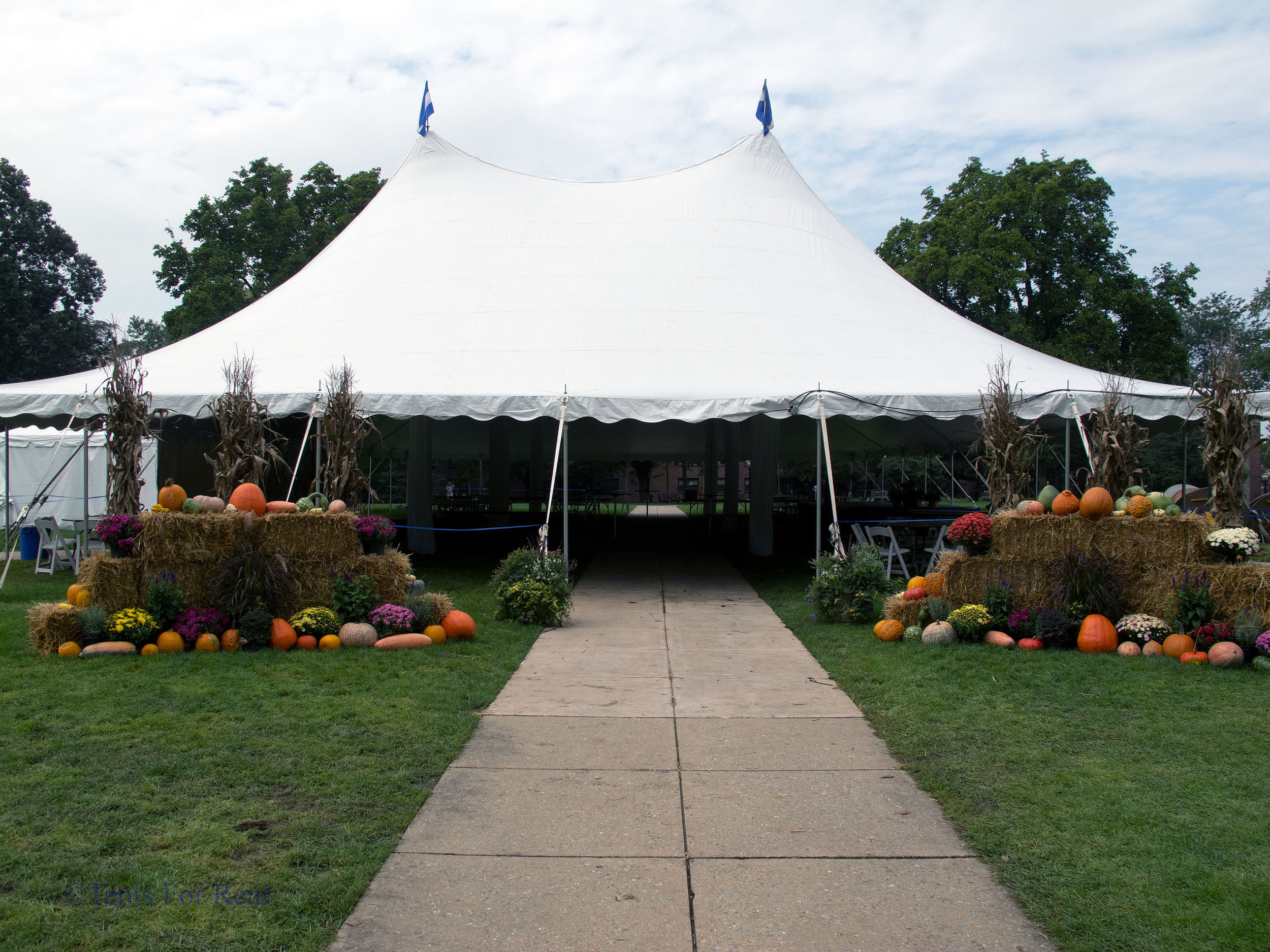 Charity ball tent