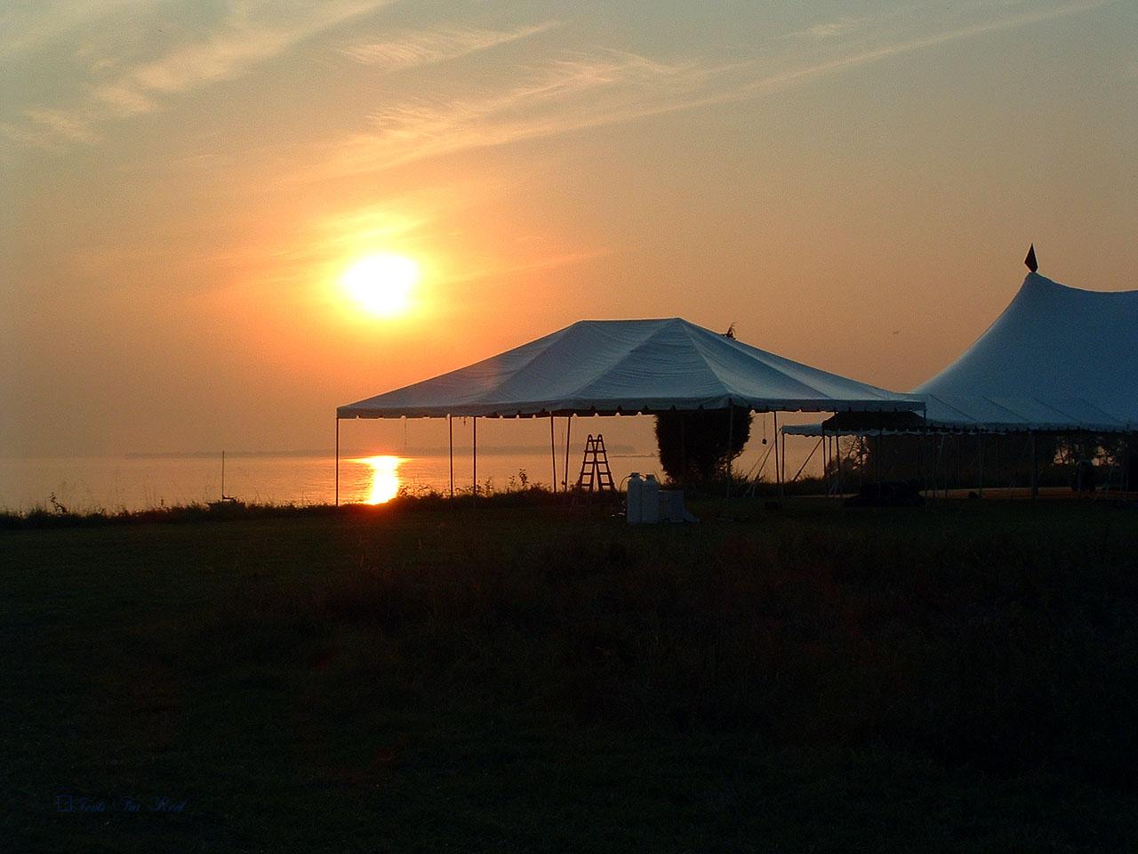 30x40 white tent