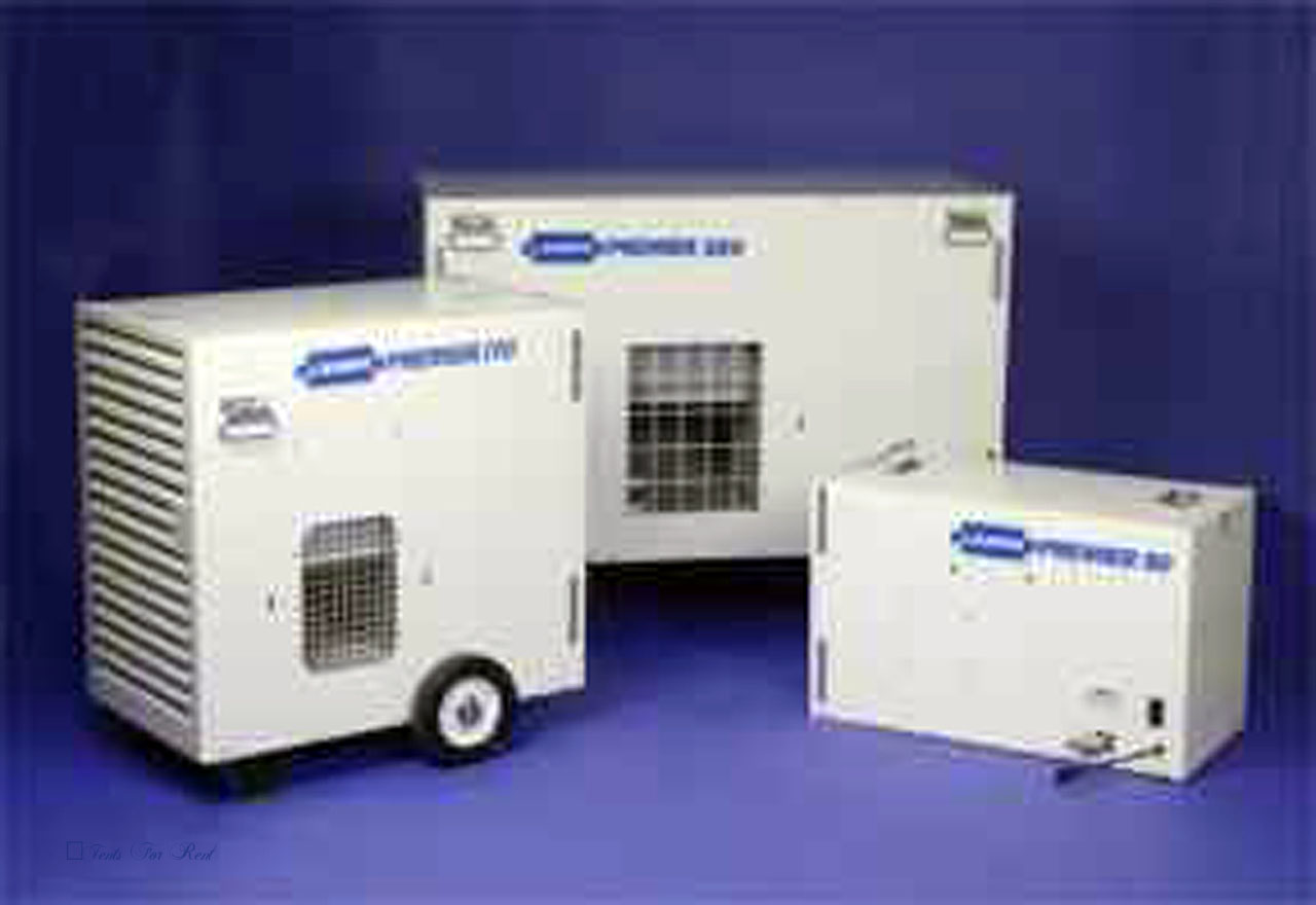 Propane Tent Heaters for rent