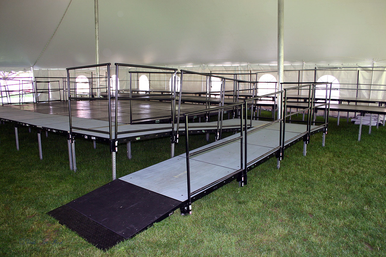 Wheelchair Accessible rental staging