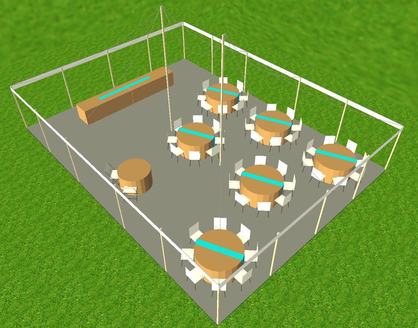 Tent Set Up Idea