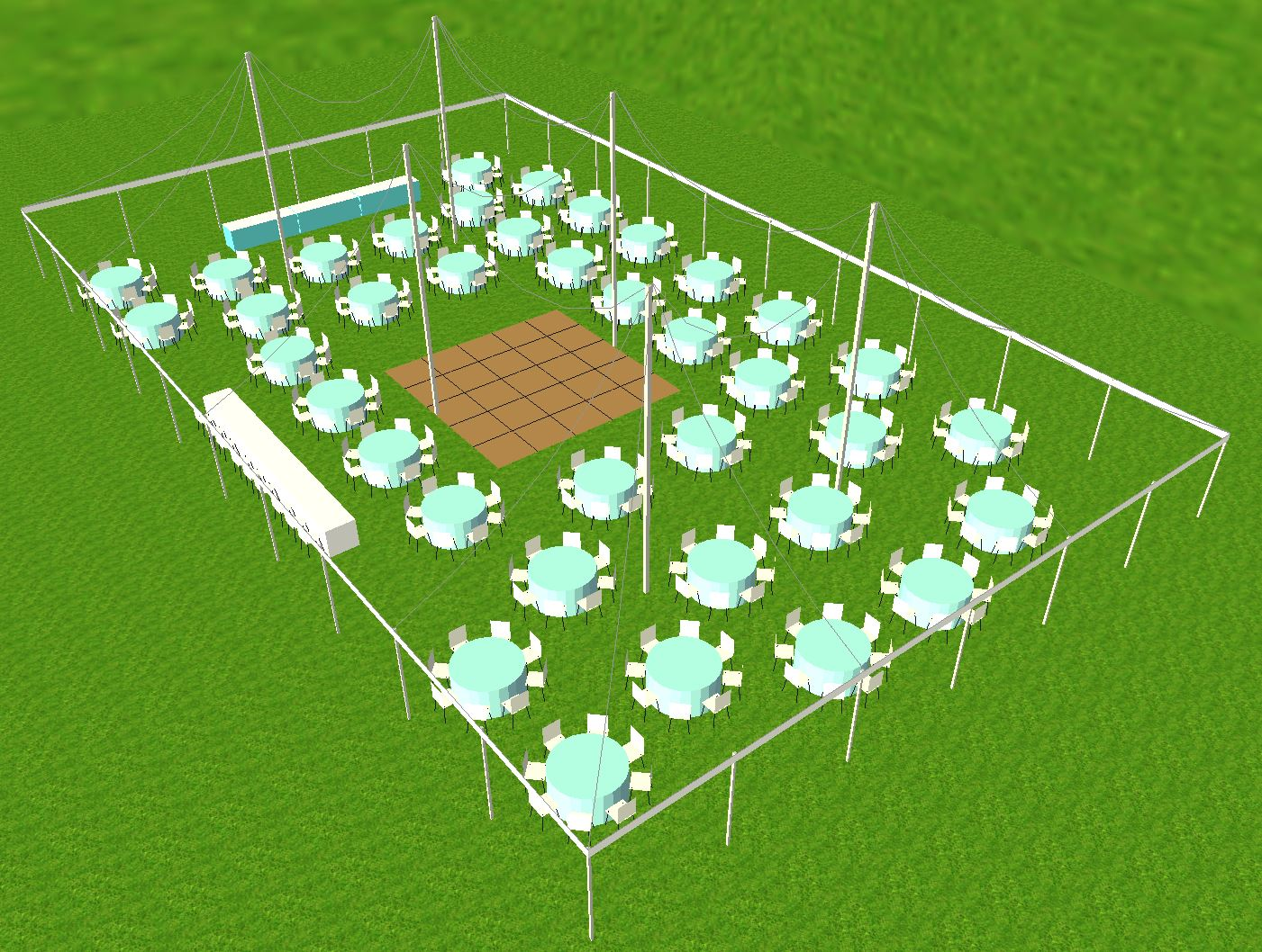 60x100 tent