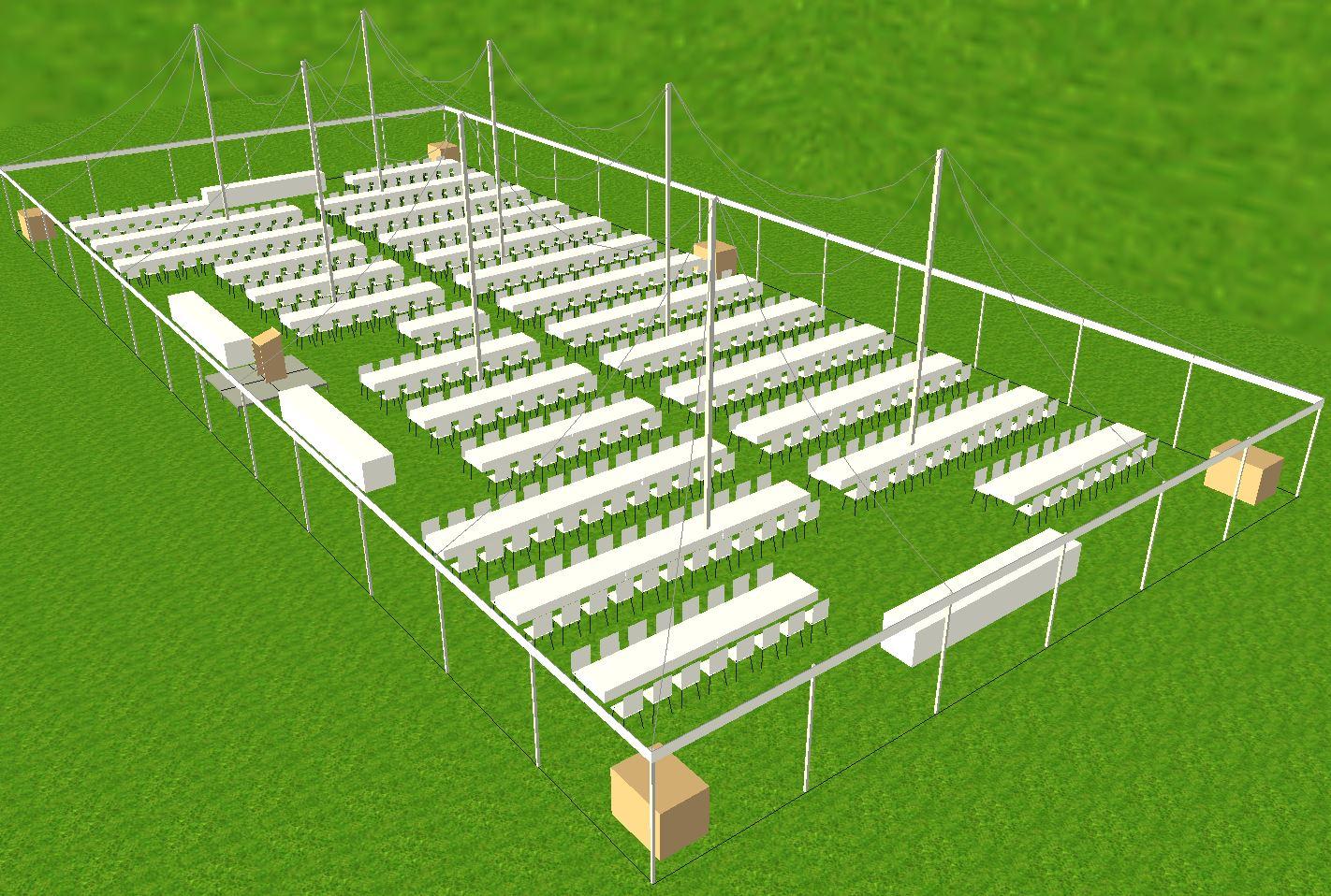 60x130 tent rental Lancaster PA