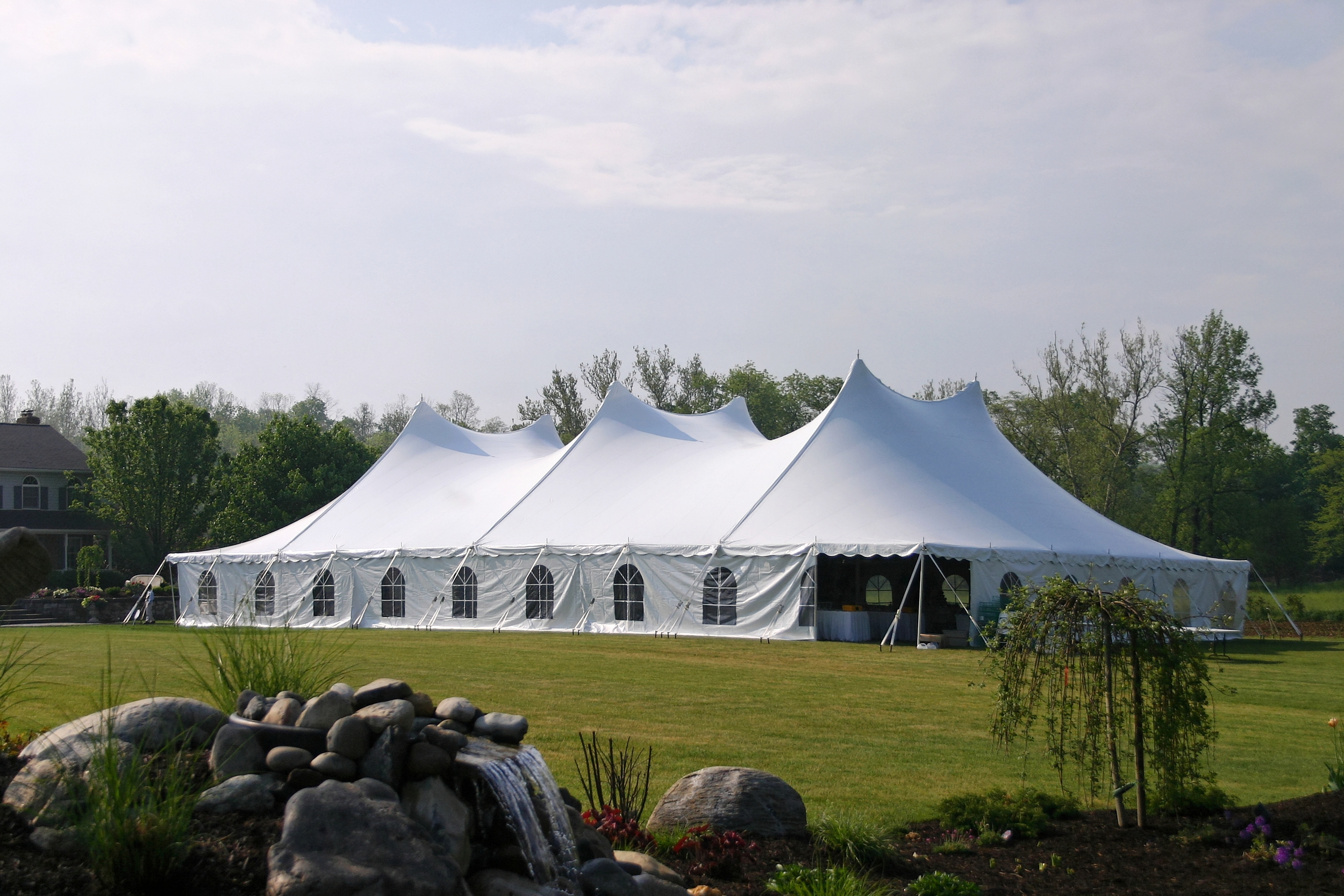 Baltimore wedding tent rentals