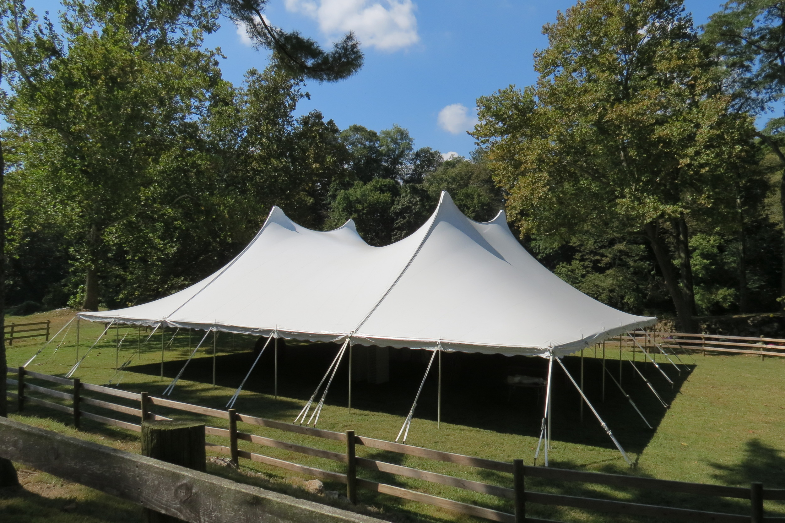 Party tent rentals in West Chester