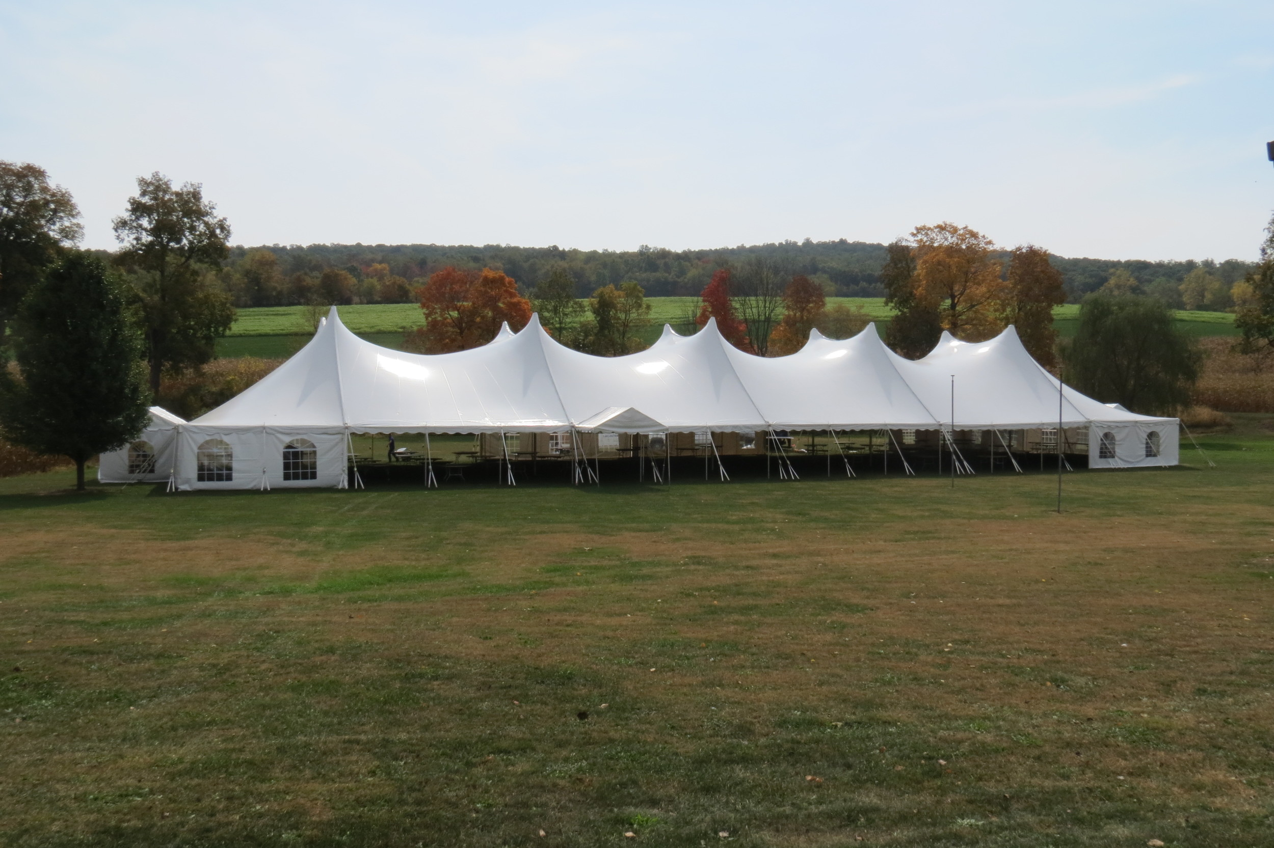 Large tent rentals West Chester, PA
