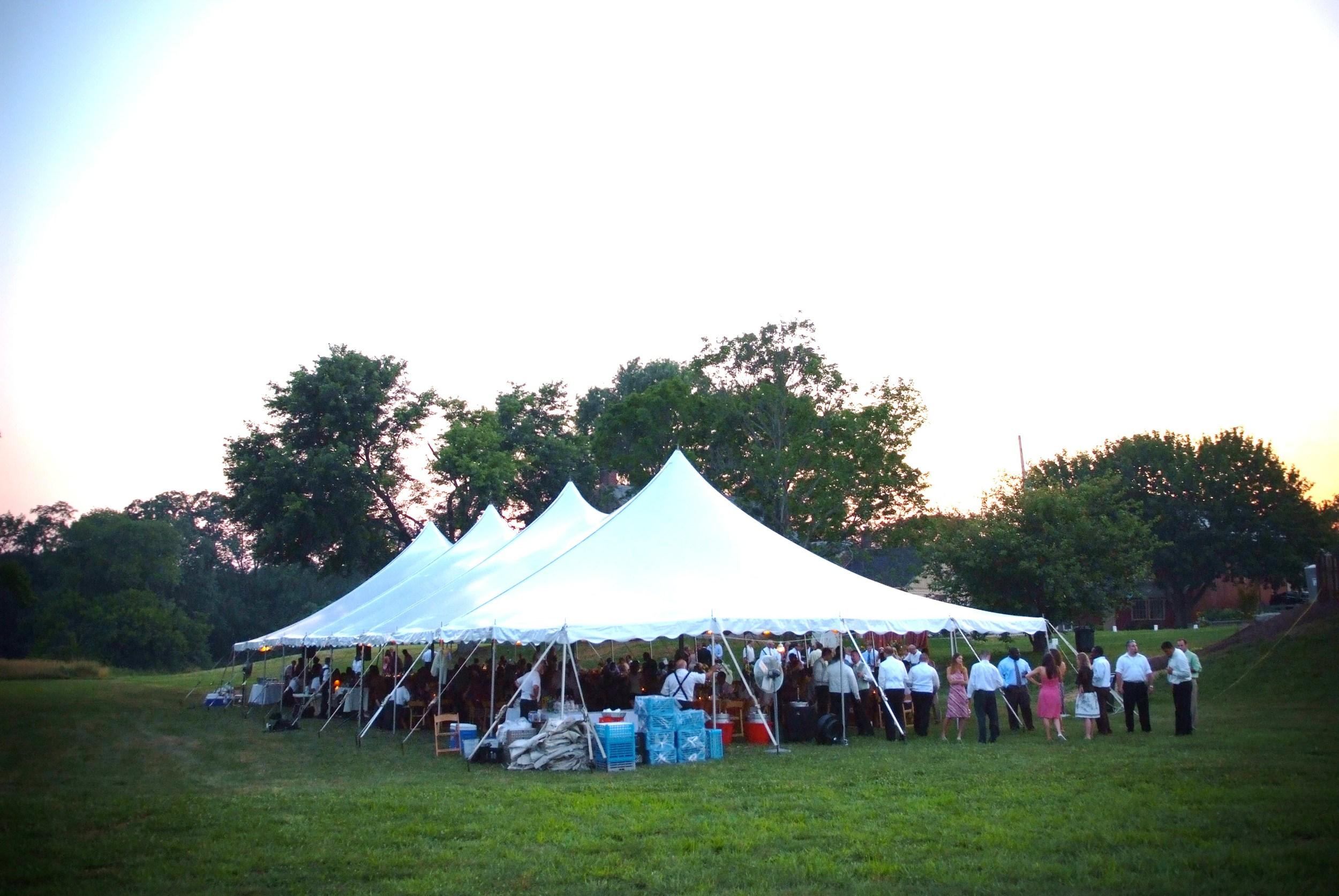 Tent rentals in Wilmington