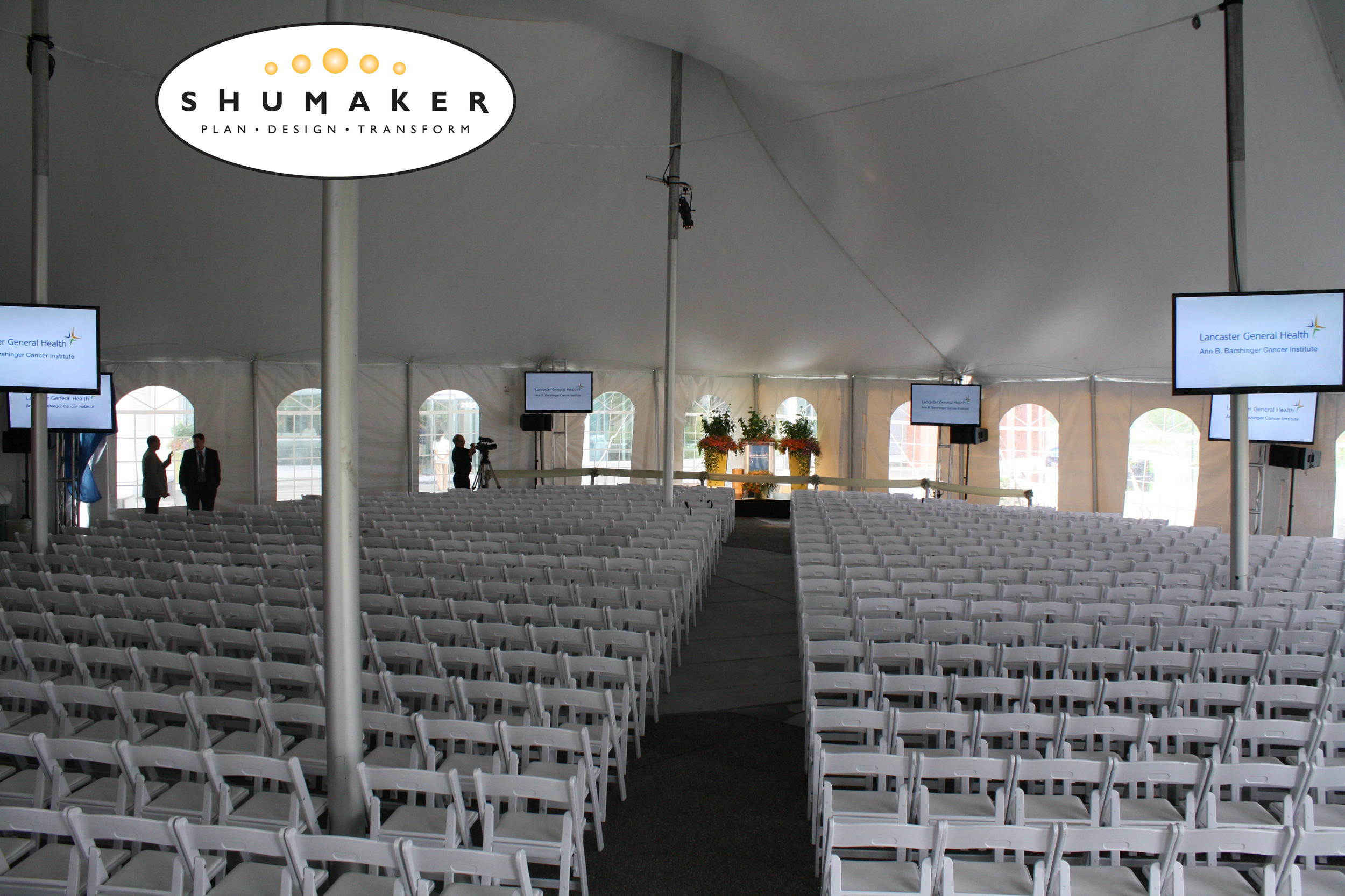 Tent and chair rentals in Wilmington