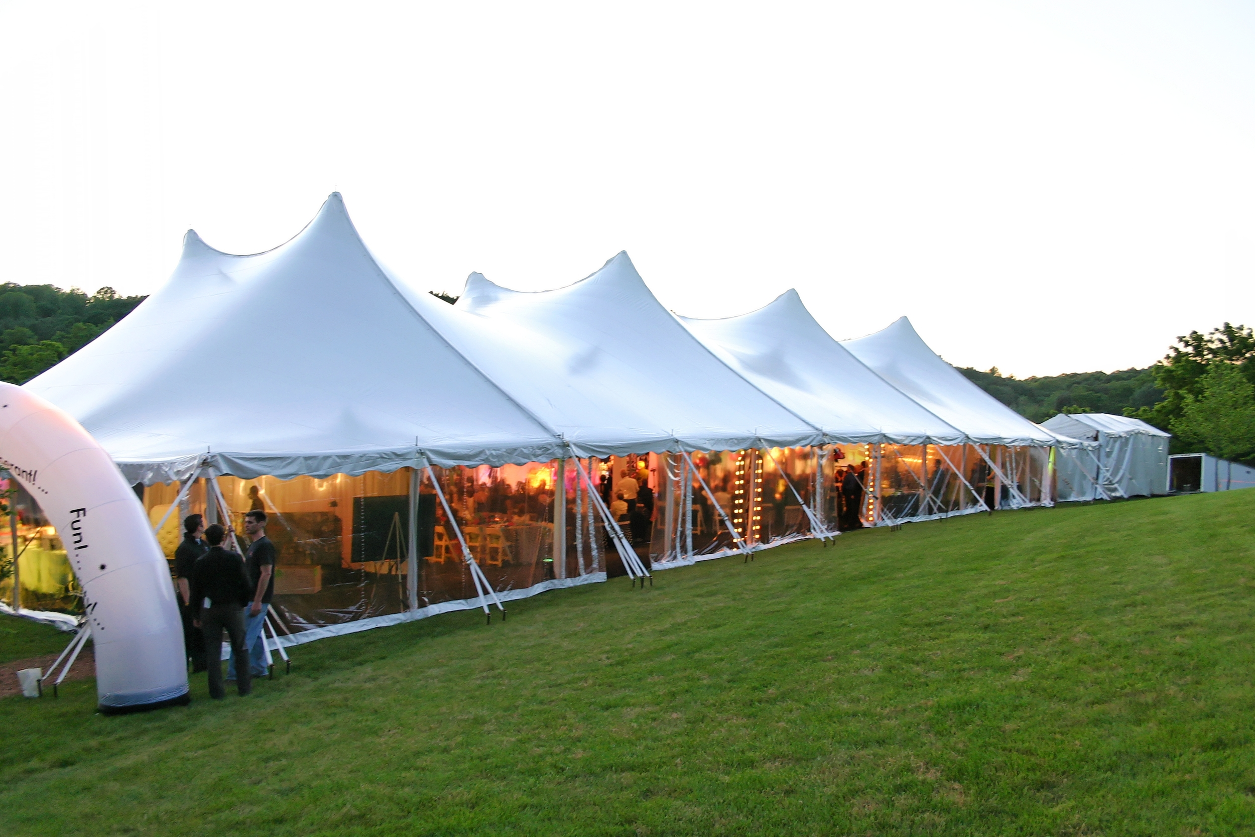 Washington DC tent rentals