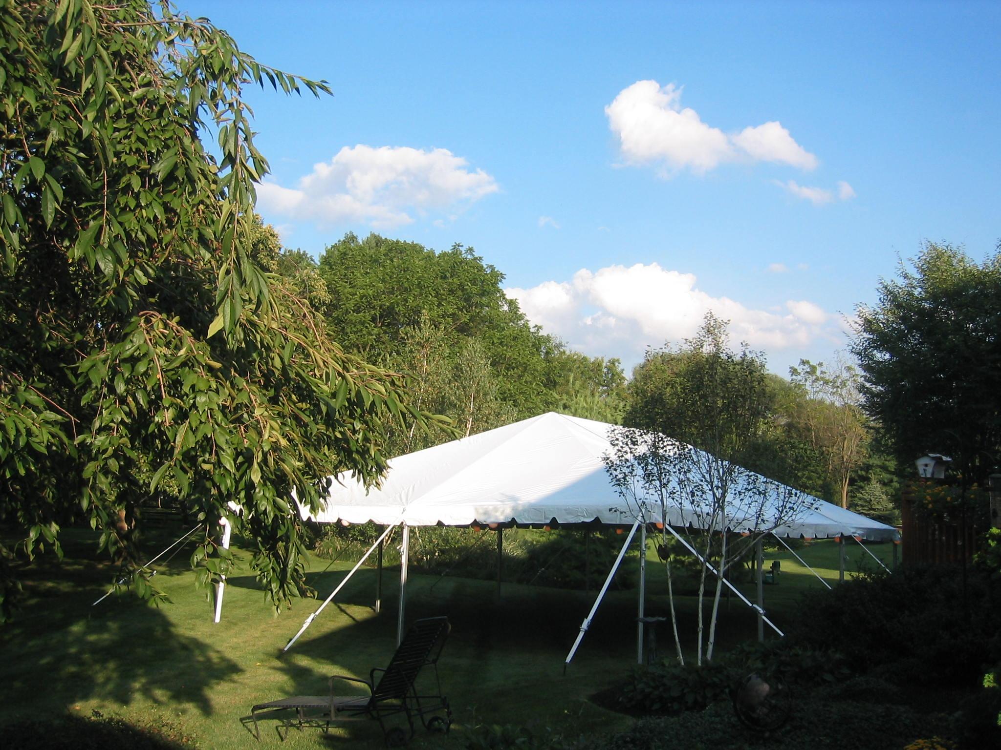 Wedding tent rentals Allentown, PA