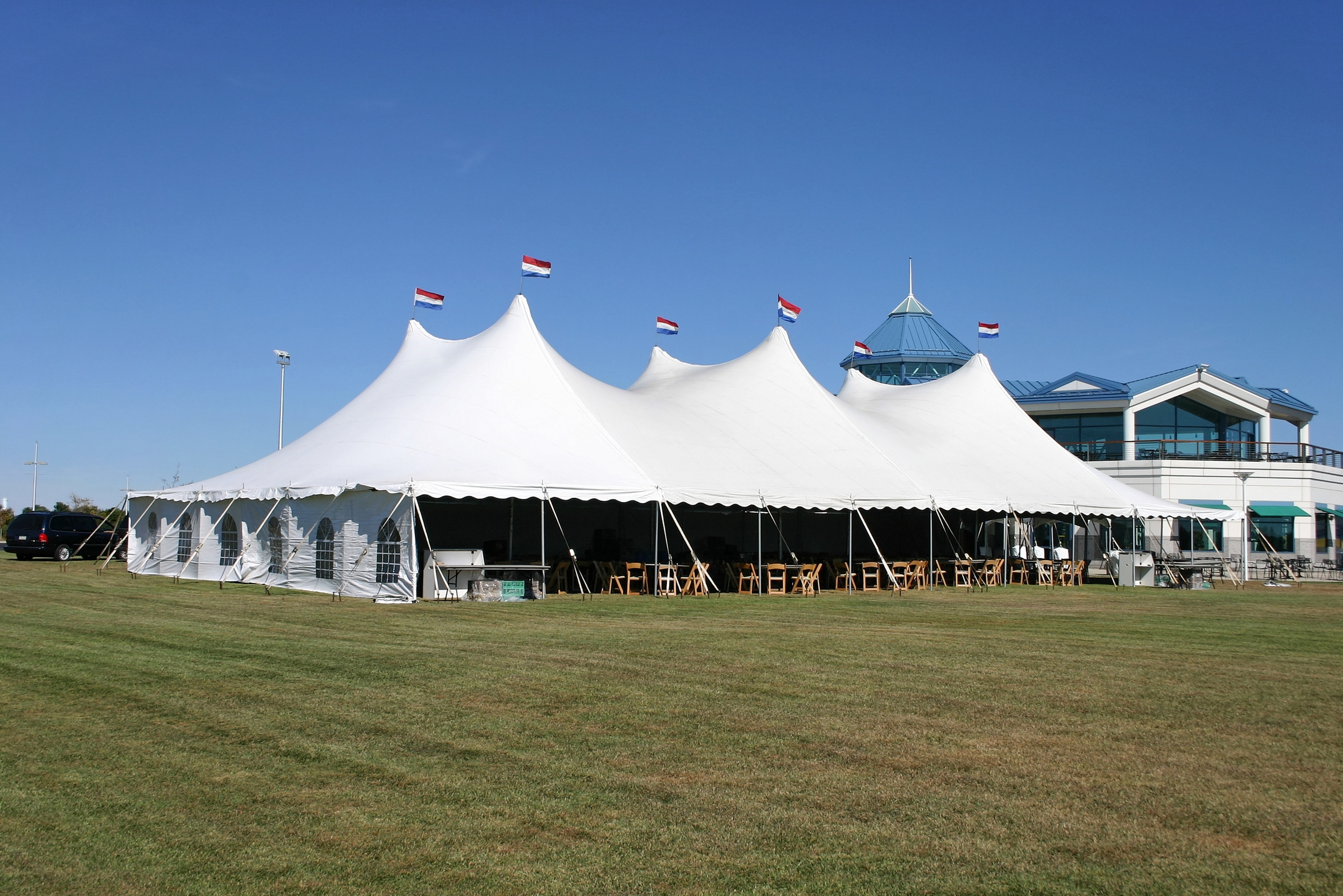 Event tent rentals in Montgomery County