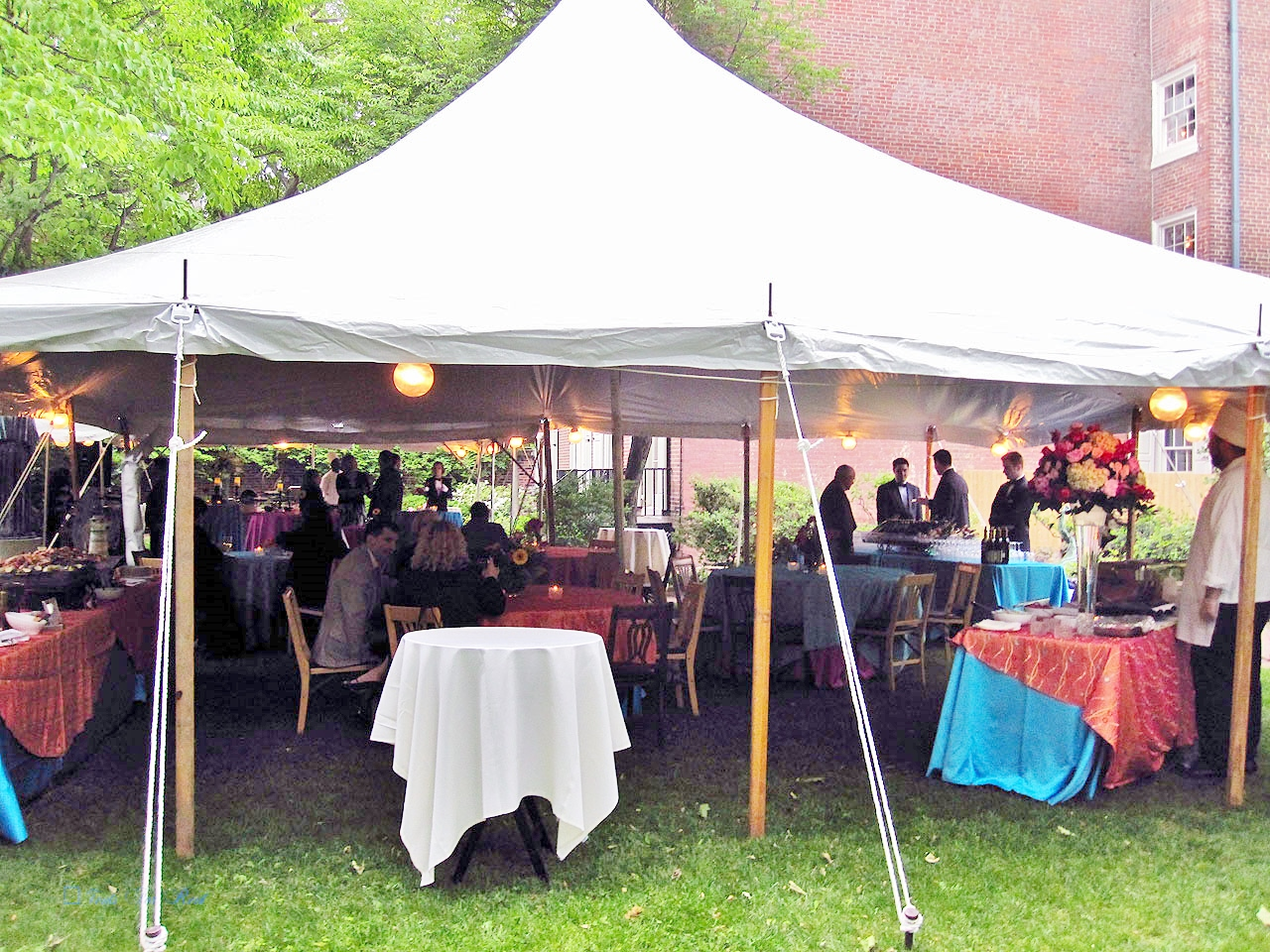 Rent a tent for your graduation party