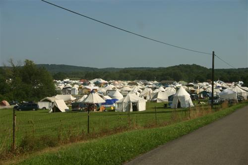 Pennsic camping tents for rent