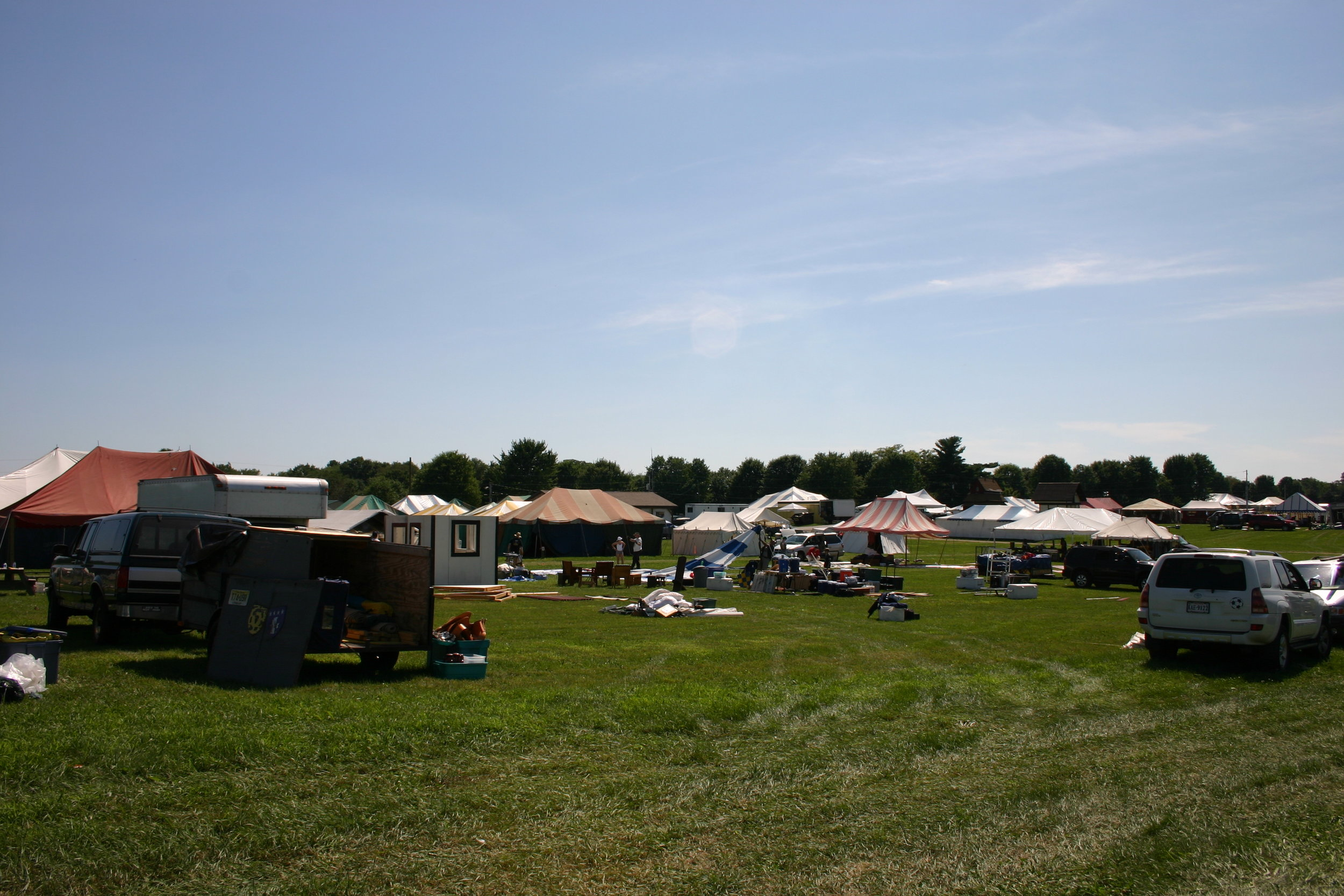 Rent Pennsic camping tents