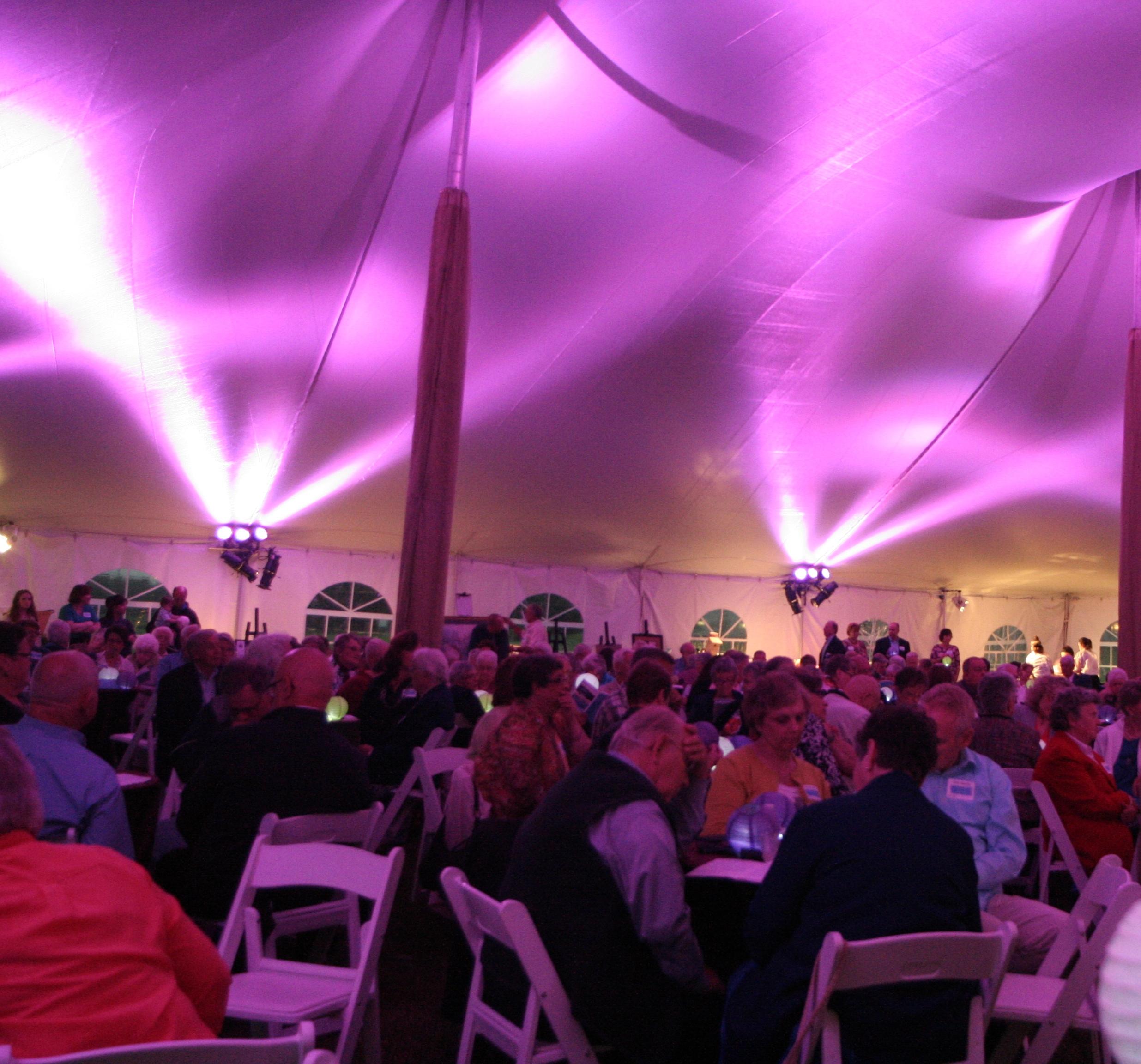 Company event tent